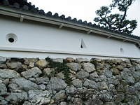 高知城 - 矢狭塀