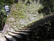 高知城 - 石垣と階段