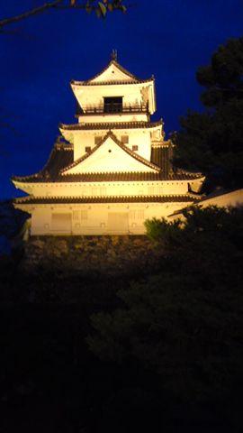 高知城ライトアップ
