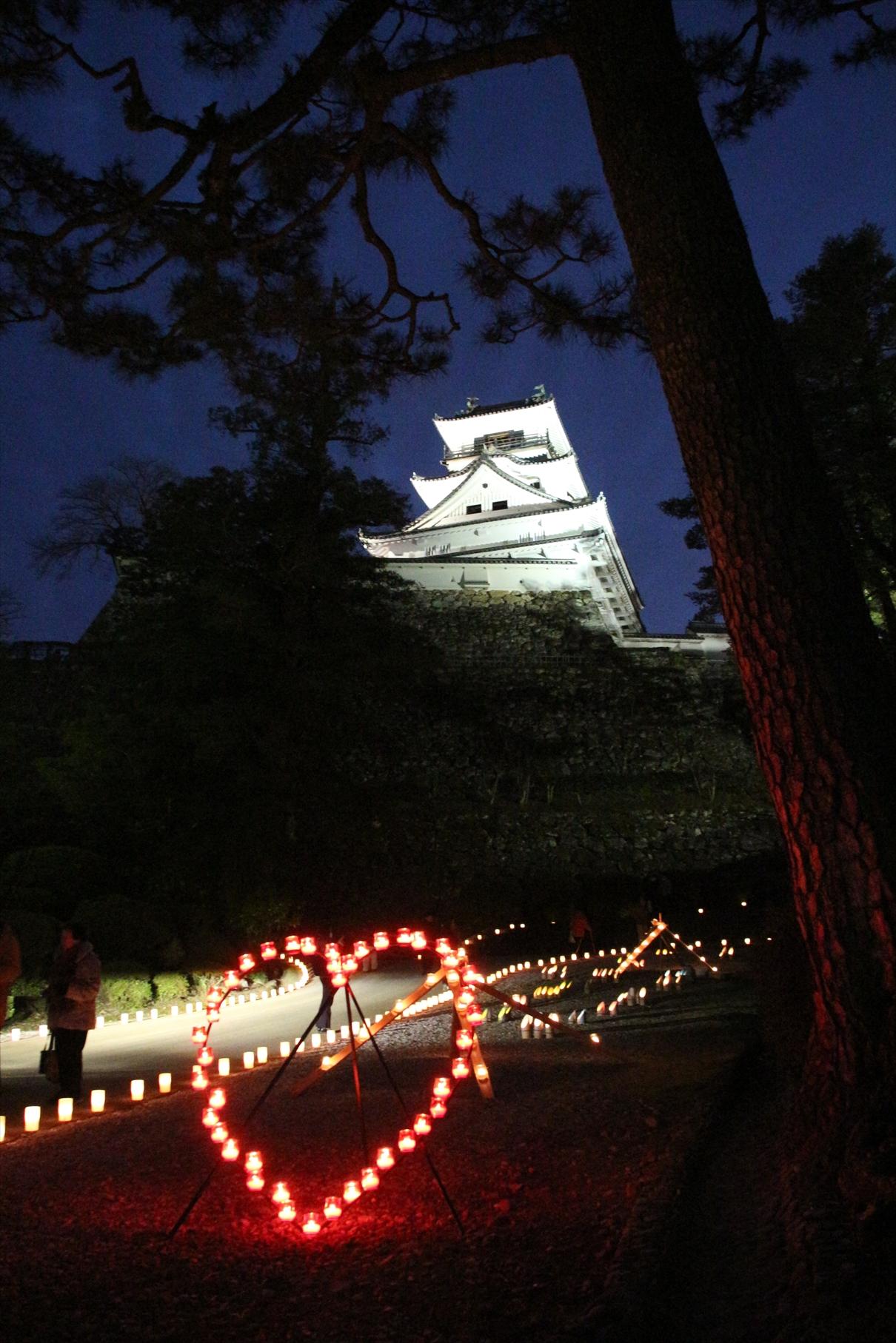 冬の夜のお城まつり 杉ノ段