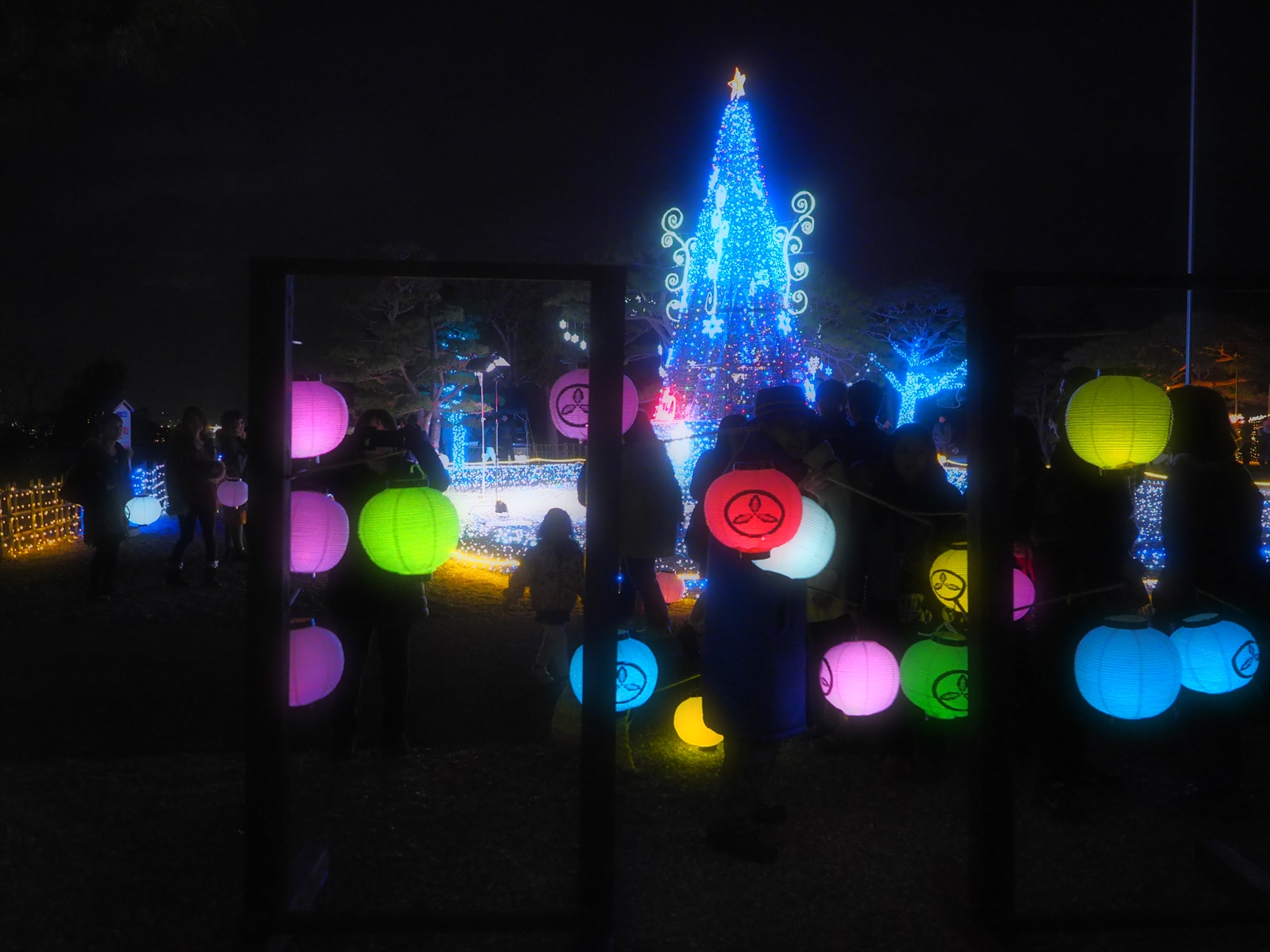 冬の夜のお城まつり ニノ丸