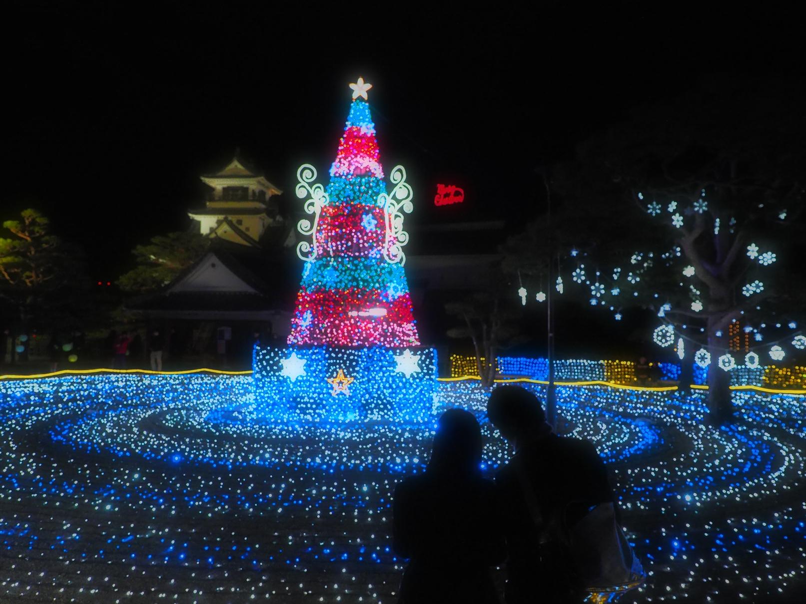 冬の夜のお城まつり 二ノ丸