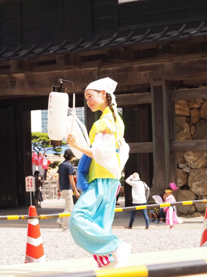 よさこい祭り 高知城演舞場