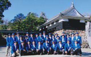 土佐観光ガイドボランティア協会(高知城ボランティアガイドの皆様)