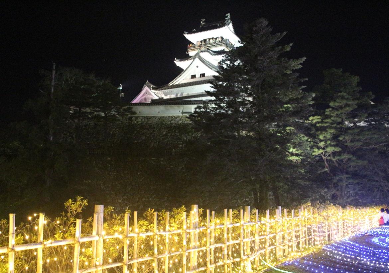 三ノ丸から高知城